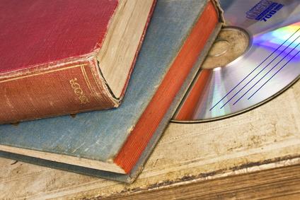 Bücher ein beliebter Artikel auf dem Trödelmarkt